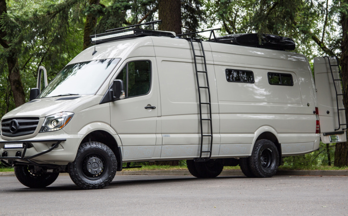 Mercedes Rv Van >> Valhalla Outside Van