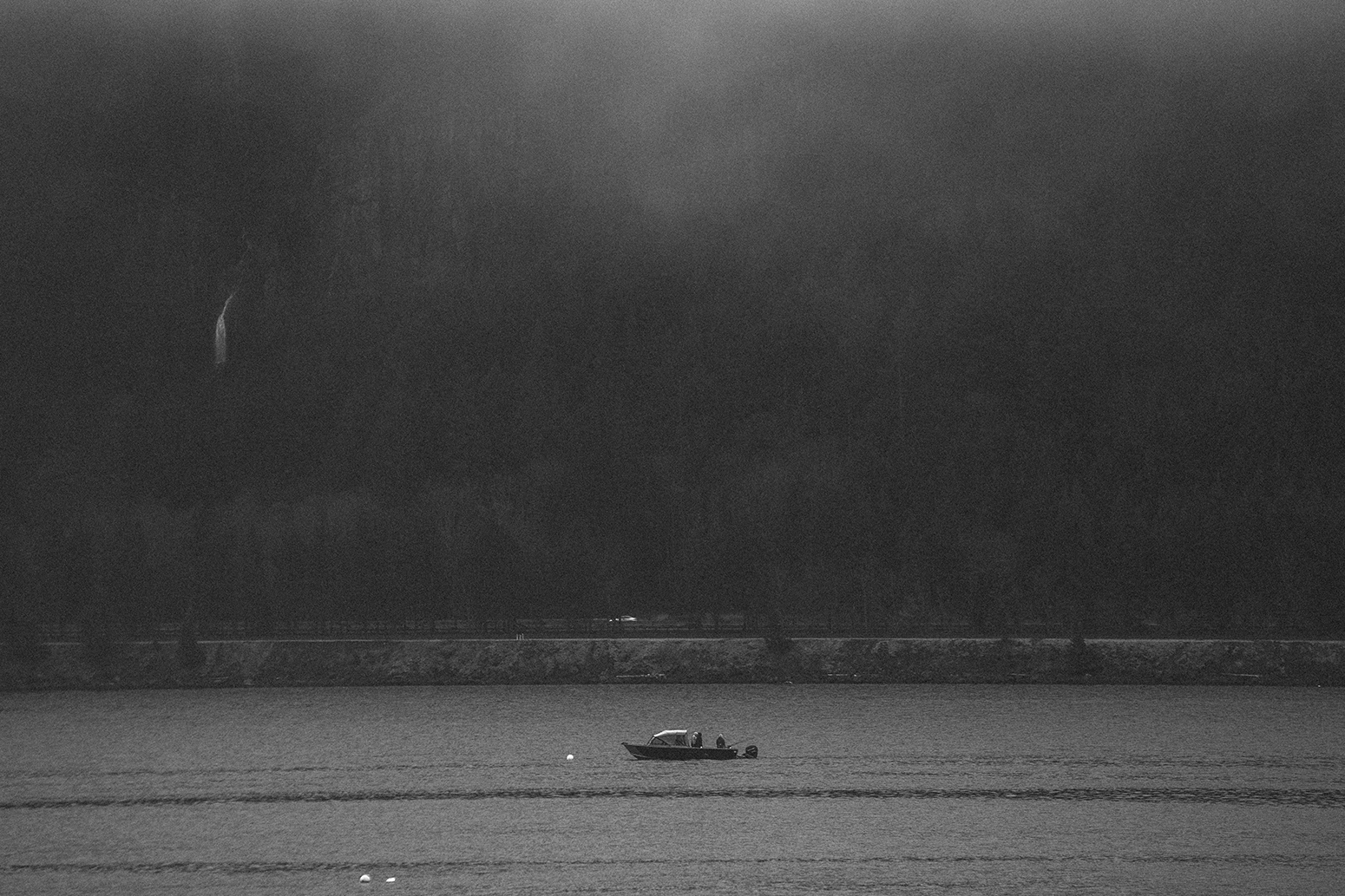 Fishing boat on Columbia River